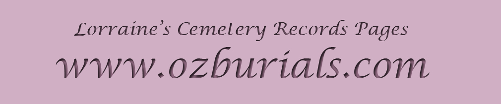 Headstone Transcriptions